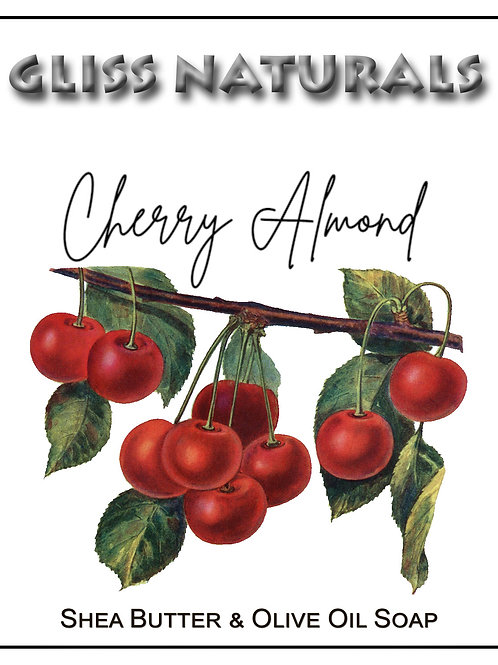 Hand Crafted Cherry Almond Soap