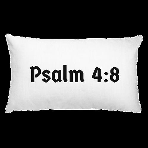 Psalm 4 Throw Pillow