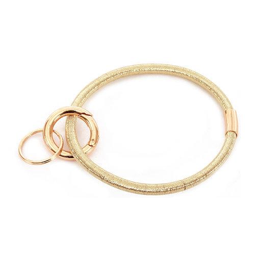 Gold Keychain Bracelet