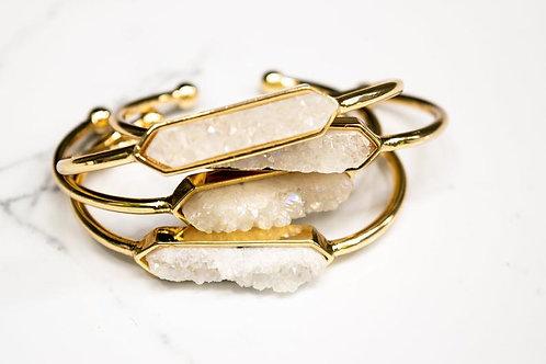 Druzy Bangle Bracelet