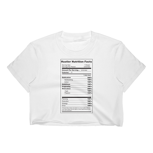 Nutrition Facts Crop Top
