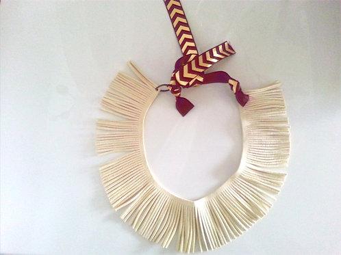 Ivory Fringe Necklace