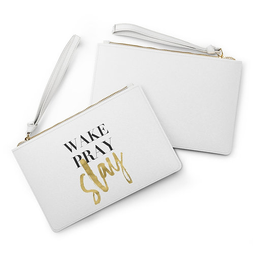 Wake Pray Slay Pouch