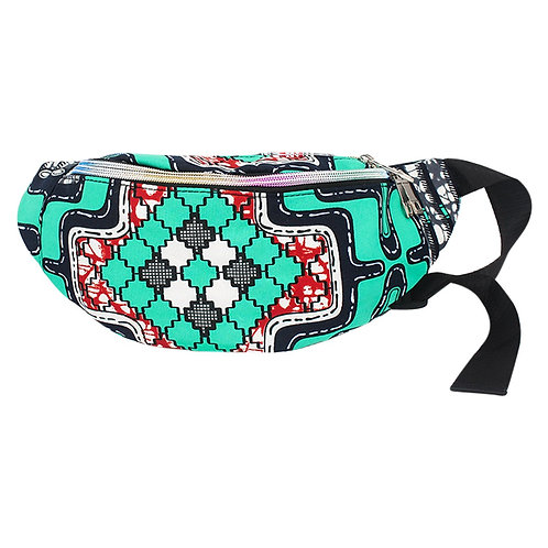 Abstract Printed Fanny Pack