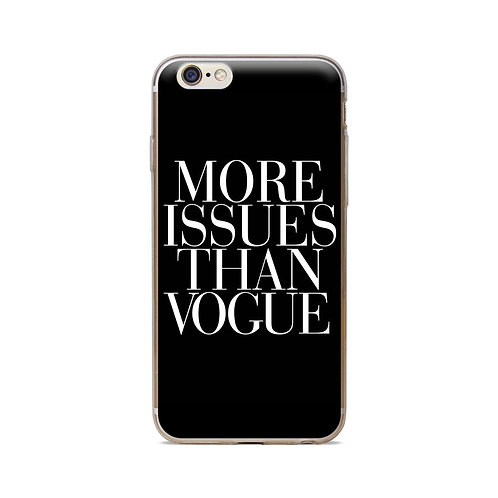 More Issues Than Vogue Cell Phone Case