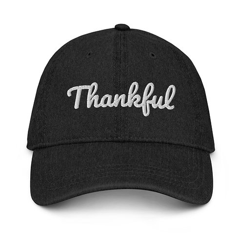 Custom Thankful Embroidered Hat