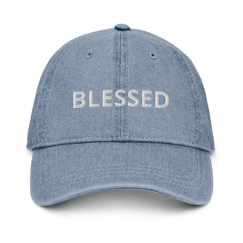 Custom Blessed Embroidered Hat