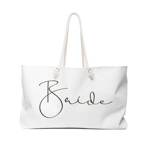 Bride Weekender Bag