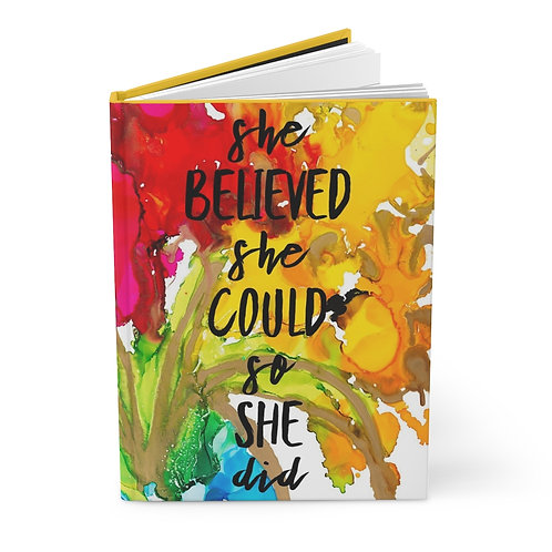 Custom Believe Journal