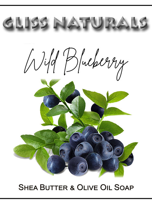 Hand Crafted Wild Blueberry Soap