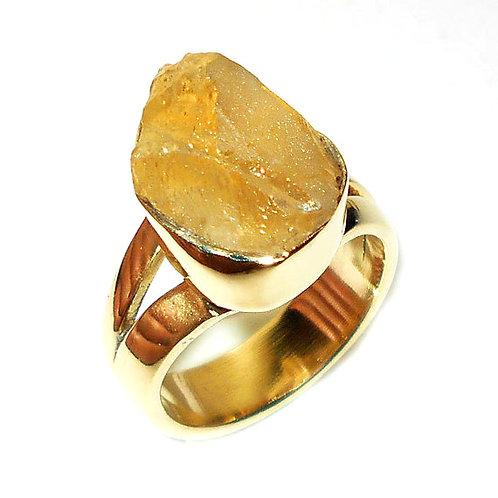 Citrine Gemstone Ring