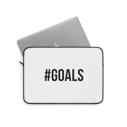 #Goals Laptop Sleeve