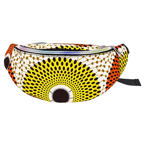 Yellow and Orange Fanny Pack