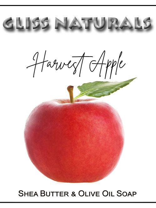Hand Crafted Harvest Apple Soap