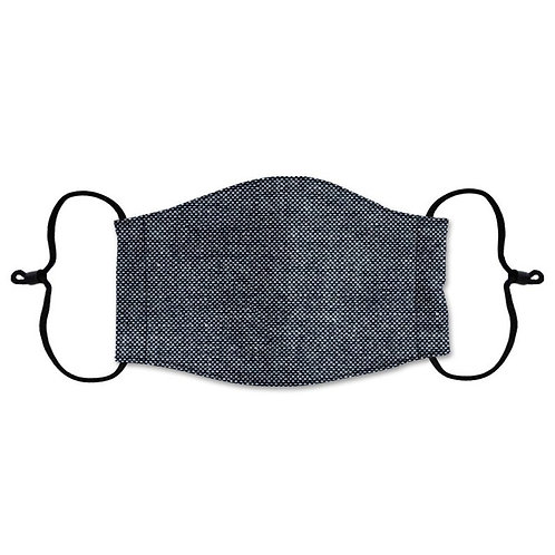 Black Denim Face Mask