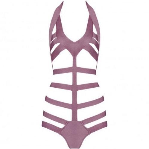 Halter Cut Out Swimsuit