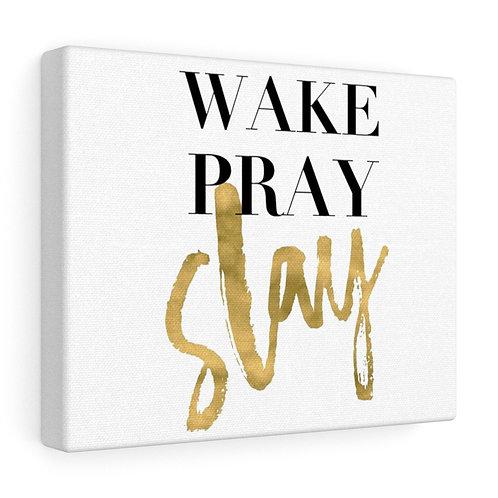 Custom Pray Canvas Wrap