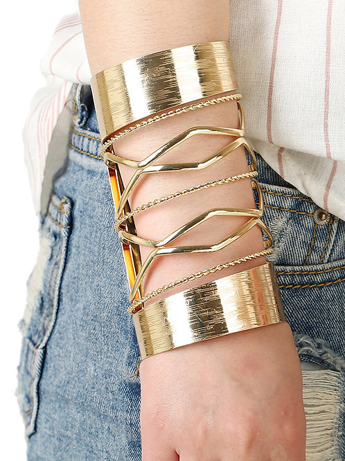 Gold Grecian Cuff