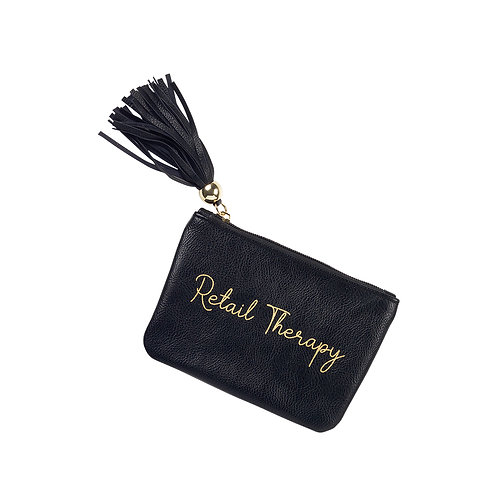 Retail Therapy Coin Purse