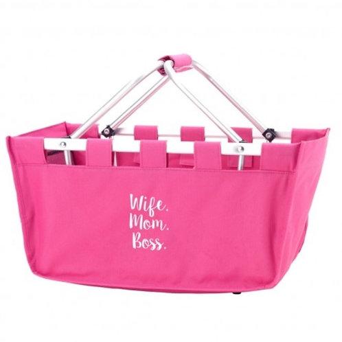 Wife Mom Boss Market Bag