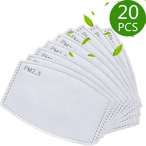 Replacement Mask Filters - Sold in various increments