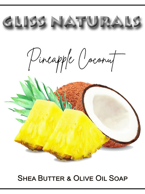 Hand Crafted Pineapple Coconut Soap