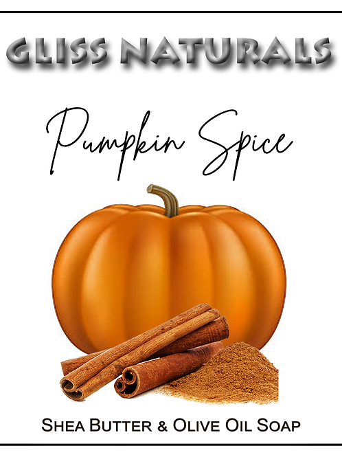 Hand Crafted Pumpkin Spice Soap
