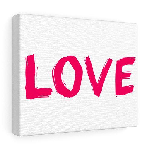 Custom Love Canvas Wrap