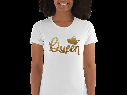 Queen Glitter Tee