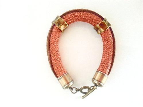 Rust Rope Bracelet