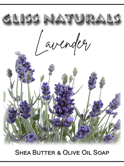 Hand Crafted Lavender Soap