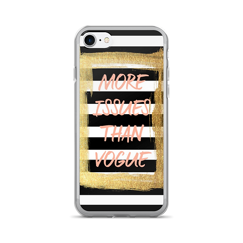 Black and White Stripe Cell Phone Case