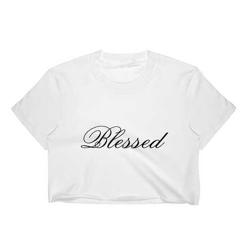 Blessed Crop Top