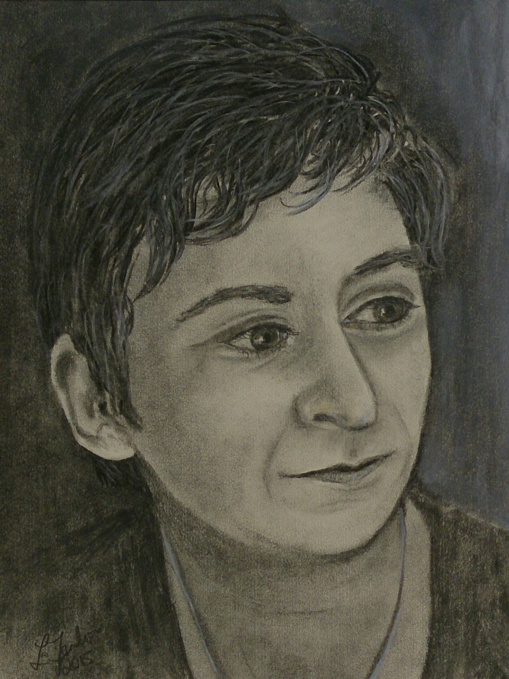 Anne Enright - Charcoal and Graphite