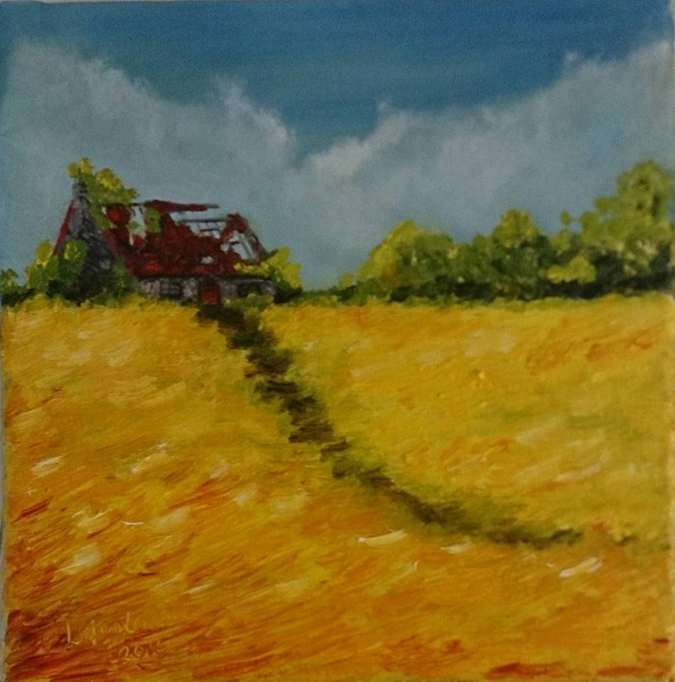 "SOLD ""Past Paths, Future Furrows"""