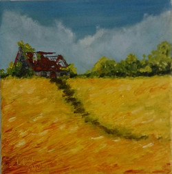 """SOLD """"Past Paths, Future Furrows"""""""
