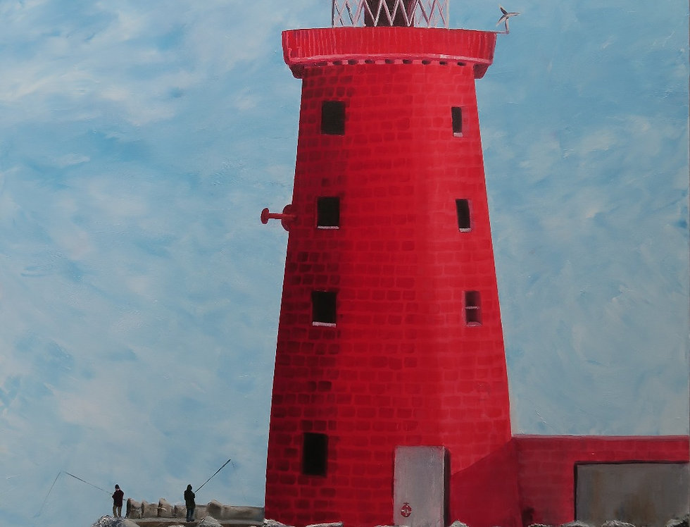 Red Rock (The Poolbeg Lighthouse)