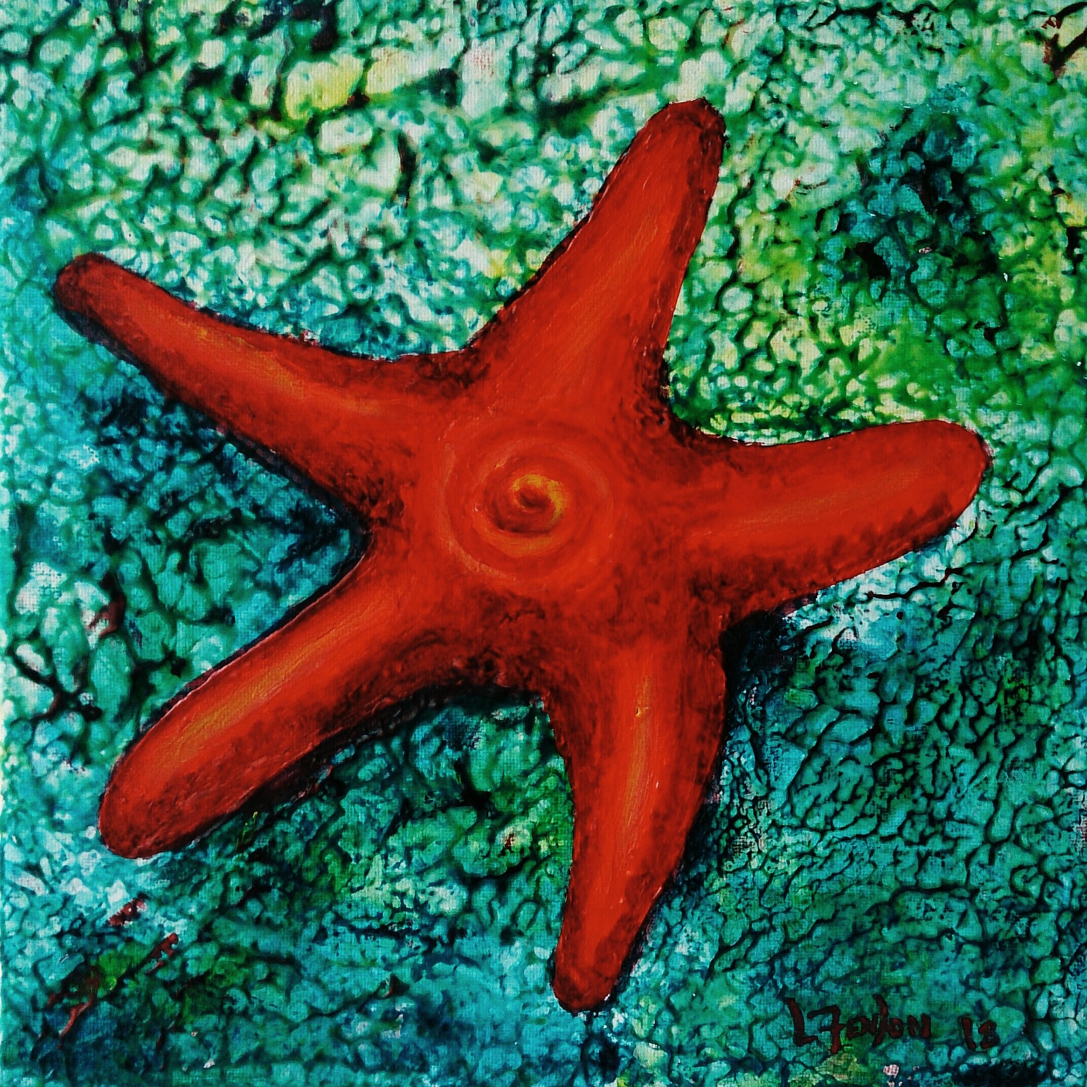 Sold - Baby Starfish II - SOLD