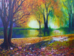 Forest Flames - SOLD