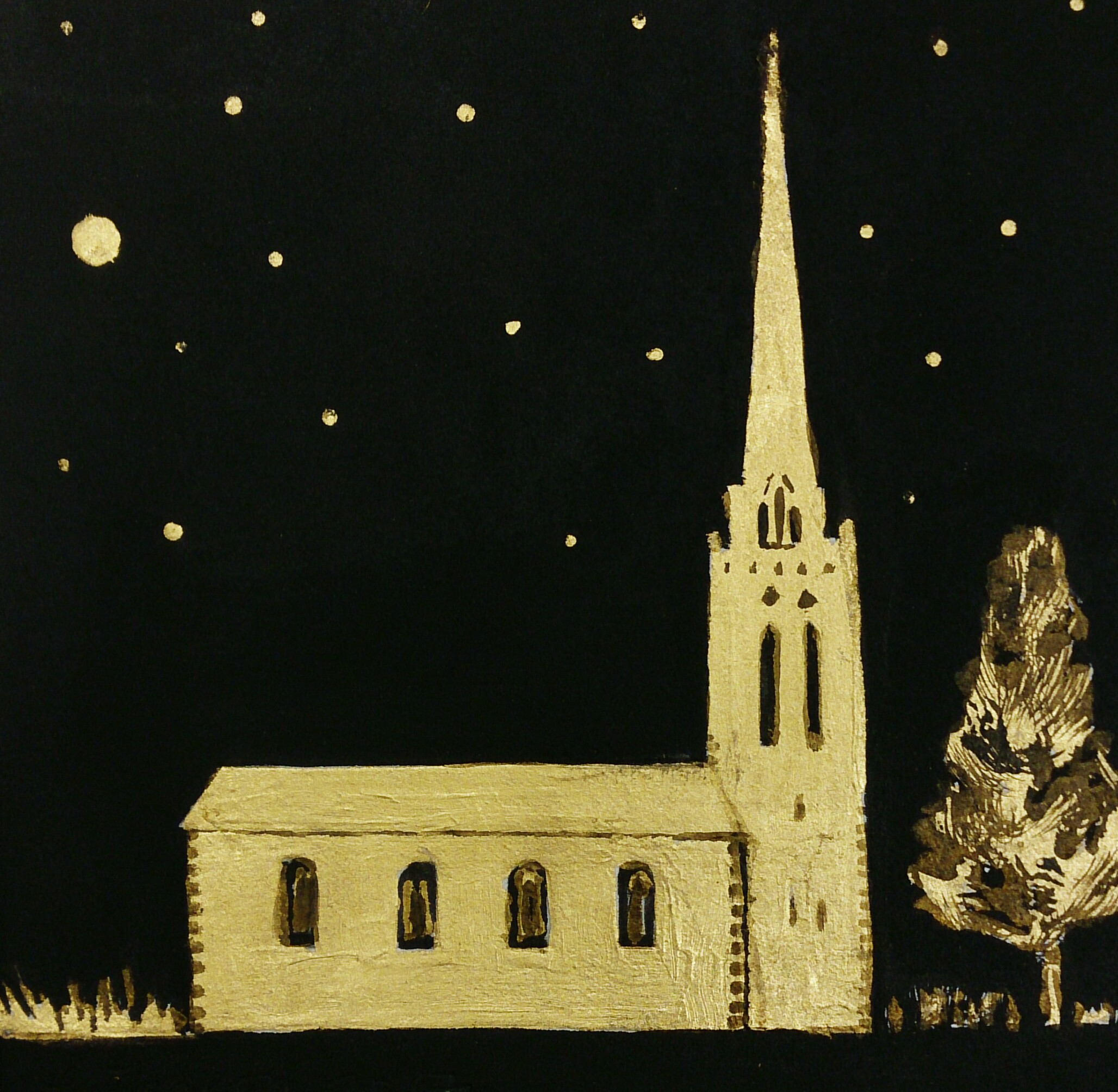 St. Mary's Church II - SOLD