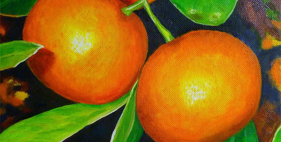 Art Card - Pomelo Mandarin