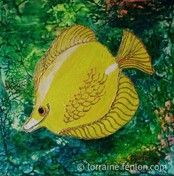 Happy Fish - Yellow Guy - Sold