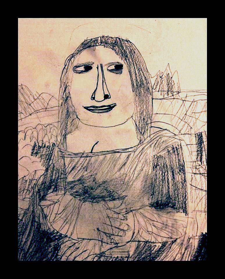 Mona Lisa by Niamh Graham aged 12