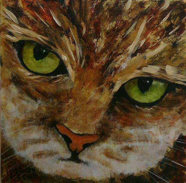 Bold Kitty - Sold