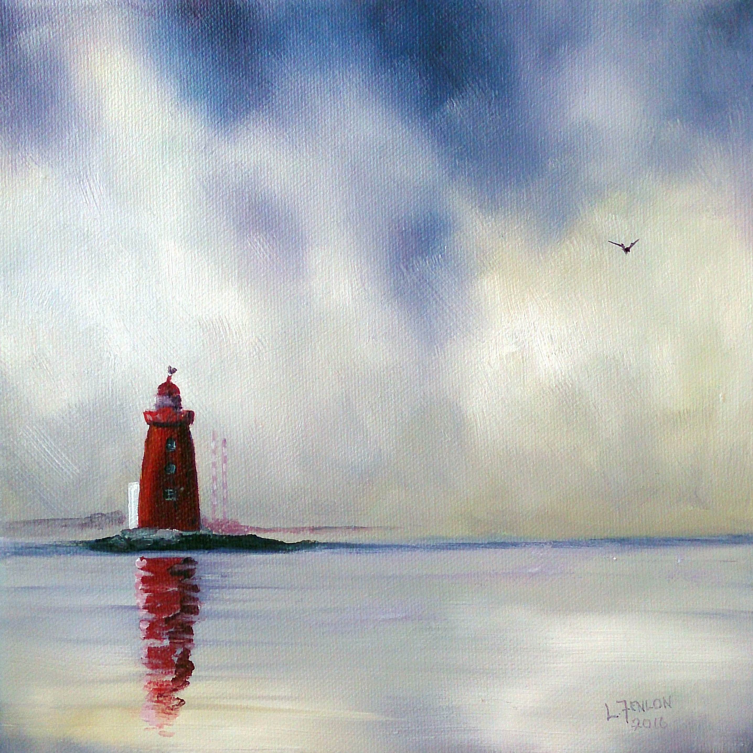 The Red Lighthouse Prints available