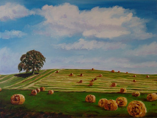 """""""A Brush with Summer"""" Exhibition of uplifting work by Lorraine Fenlon & also Debut sho"""