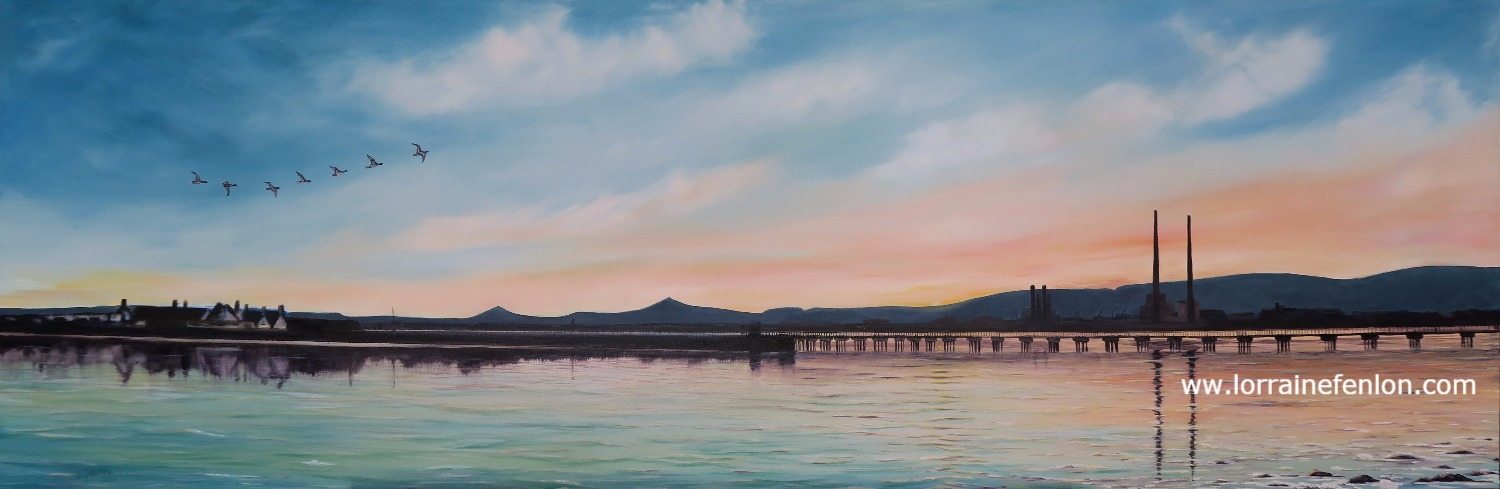 Gentle Evening - Dollymount - SOLD