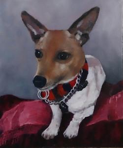 """""""Shady"""" Oil on canvas"""