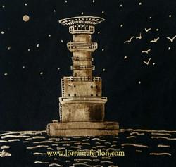 The Kish Bank Lighthouse