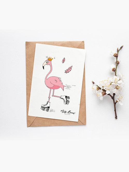 Foto/postal decorativa Queen (10 x15 cm)